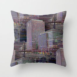 office Dayze Throw Pillow