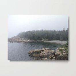 Acadia Maine Beach Metal Print