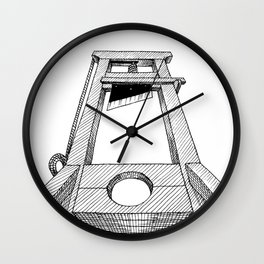 chop Wall Clock
