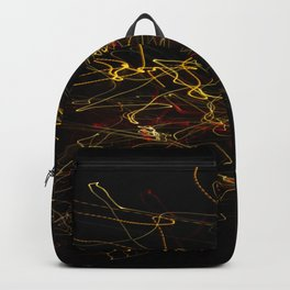 Light lines in the darkness Backpack