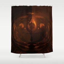 Hephaestus - God Of The Forge And Metallurgy Shower Curtain