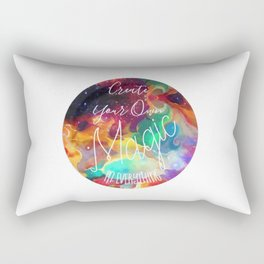 Create Your Own Magic in Everything Rectangular Pillow