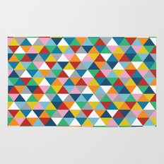 Triangles of Colour Rug