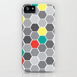 Hexagon Fever iPhone Case