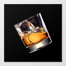 Whisky on the Rocks Canvas Print