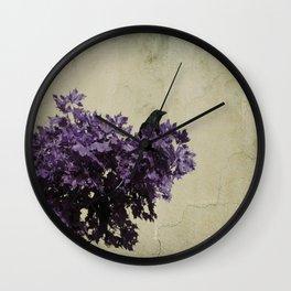 Crow's View Wall Clock