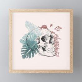 Skull Framed Mini Art Print
