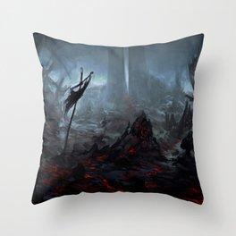 Ris Megroth Throw Pillow
