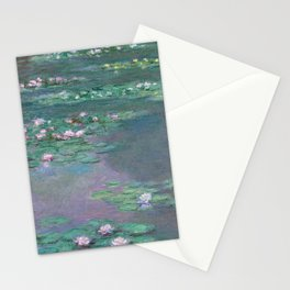Water Lilies Monet 1905 Stationery Cards