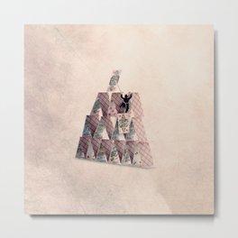 The castles builder Metal Print