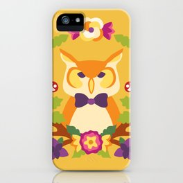 Baltimore Woods Owl - Fall Colors iPhone Case
