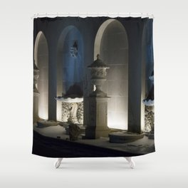 Longwood Gardens Christmas Series 125 Shower Curtain
