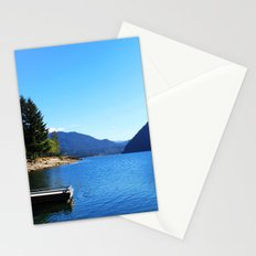 Landscape photo, Olympic National Park in Seattle Stationery Cards