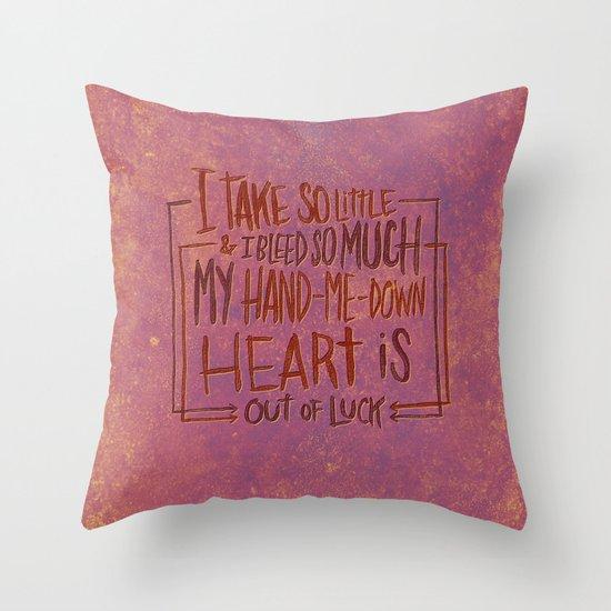 CONVERGE Throw Pillow