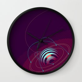 Geomeric Playgrond 11 Wall Clock