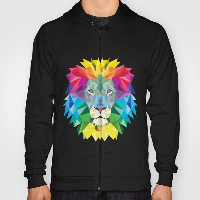 High Color Lion  Hoody