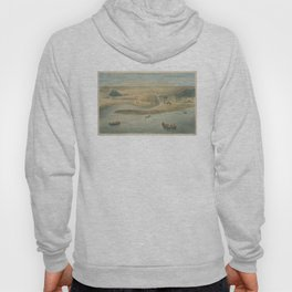 Vintage Map of Chicago in 1820 Hoody