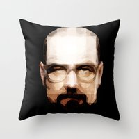 cook Throw Pillows featuring The Cook by skudio