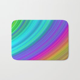Rainbow Bath Mat