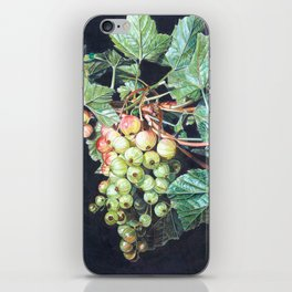 BLACK CURRANTS iPhone Skin