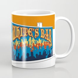 White's Bar- Burnt Orange Coffee Mug