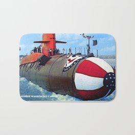 USS GEORGE WASHINGTON CARVER (SSBN-656) Bath Mat