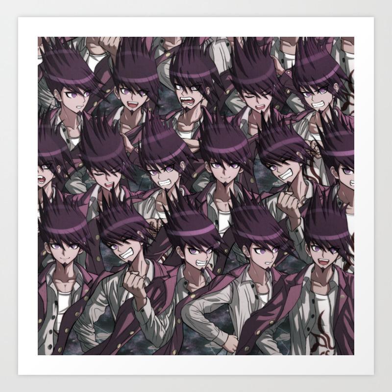 Kaito Momota Art Print By Raybound420 Society6