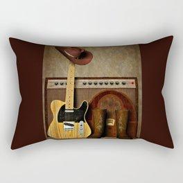 Country Guitar Rectangular Pillow
