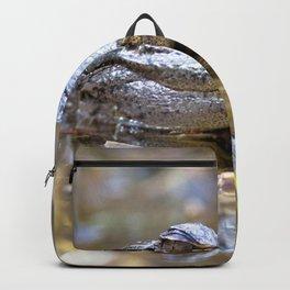 Watercolor Alligator 14, Okefenokee Swamp, Geogia Backpack