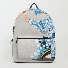 Beijing Opera Character ShiXu Backpack