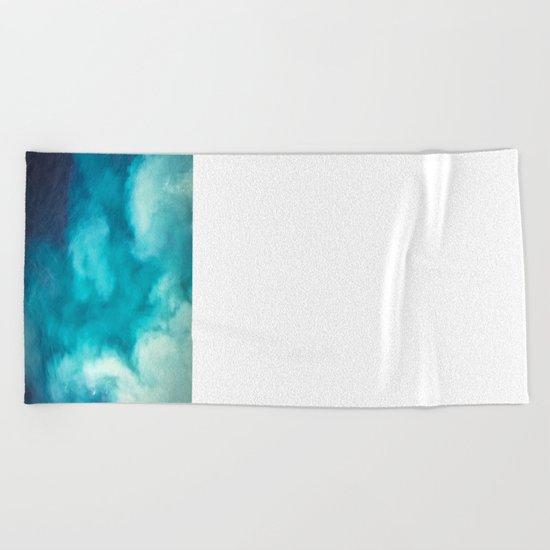 Caribbean Blues Beach Towel