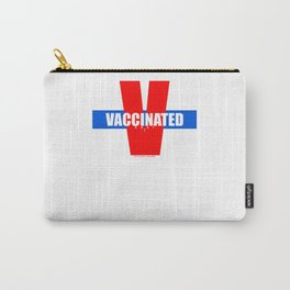 Vaccinated Carry-All Pouch