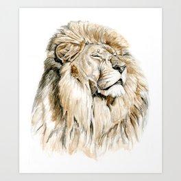Sun King Art Print