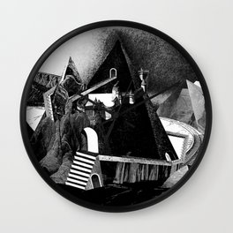 A View Wall Clock
