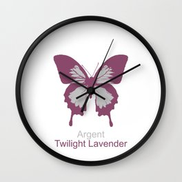 Ulysses Butterfly 14 Wall Clock
