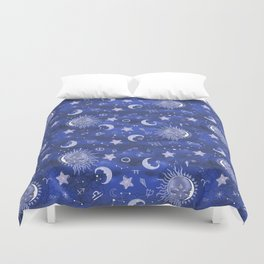 Alchemical Skymap Duvet Cover