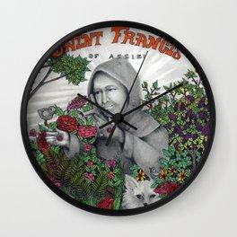 St. Francis Wall Clock