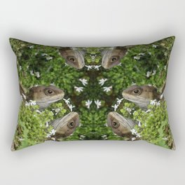 Tuatara : New Zealand Endemic Rectangular Pillow