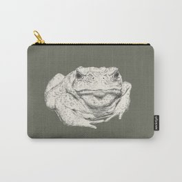 Toad Face Carry-All Pouch