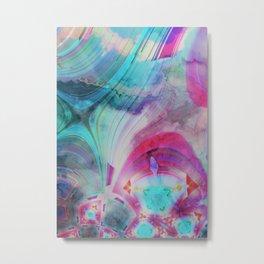 pastel geometrical asbtract Metal Print
