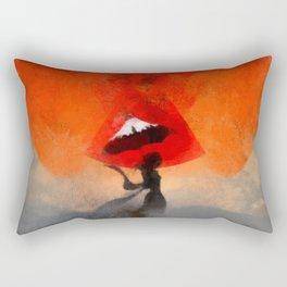 umbrellaliensunshine: atomicherry summer! Rectangular Pillow