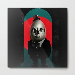 Humpty Dumpty Metal Print