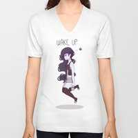marceline V-neck T-shirts featuring Marceline by abicrais