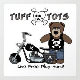 Tuff Tots Big Bear Art Print