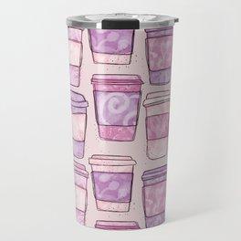 Coffee Cups   Purples Palette Travel Mug