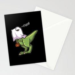 Halloween T Rex Dinosaur Stationery Cards