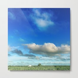 a long way to the truck Metal Print