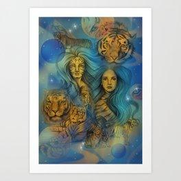 Fierce Universe Art Print