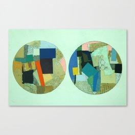 Two Circles Canvas Print