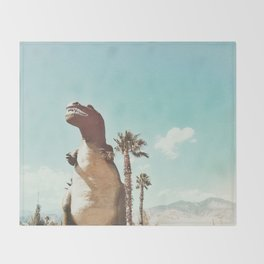 dino daze Throw Blanket